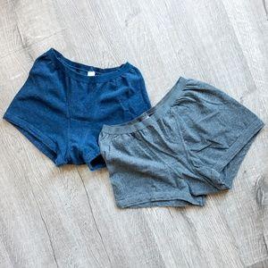 Bundle of 4 boy shorts / sleeping shorties